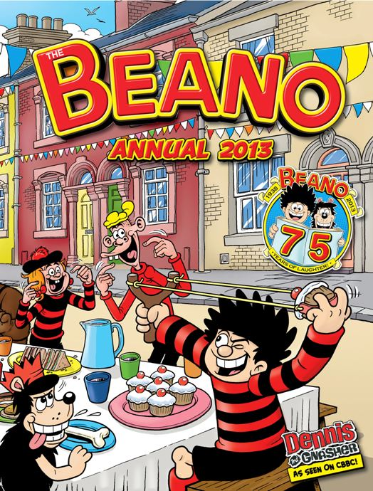 Highlight to promote 75th Beano Annual