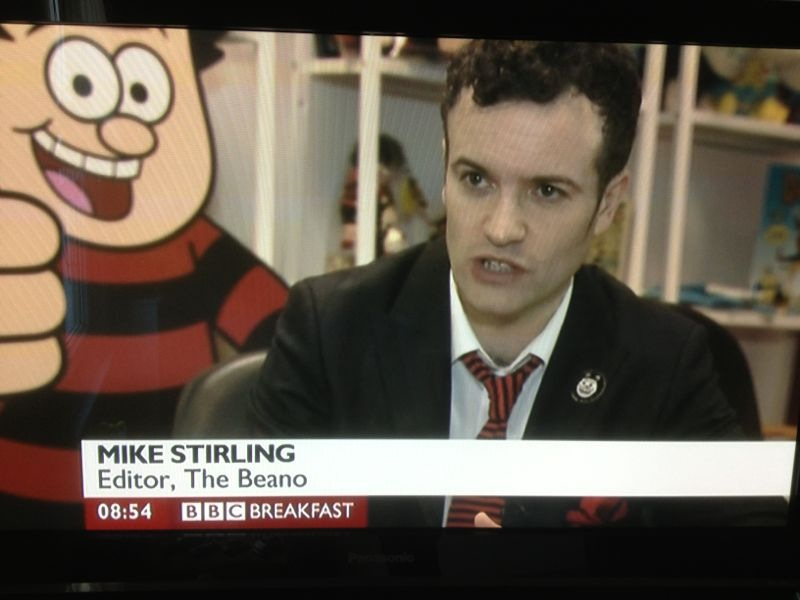 Beano Christmas Annual in the media