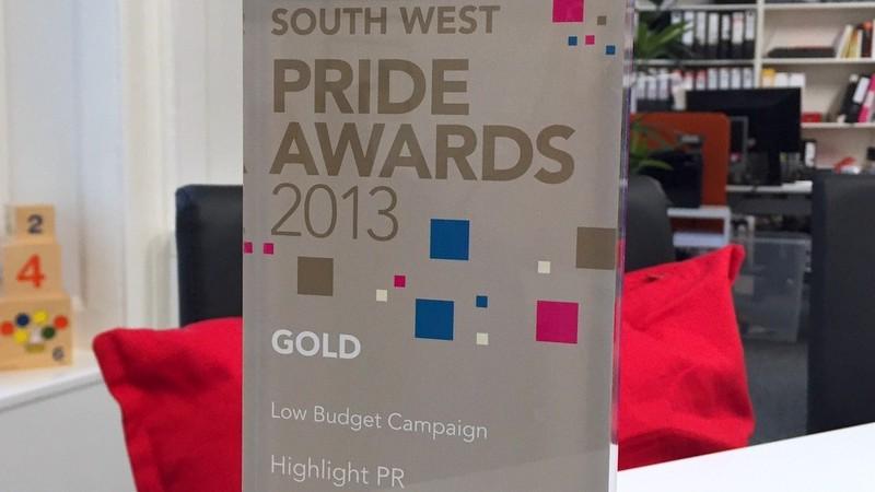 Highlight wins gold at CIPR PRide Awards