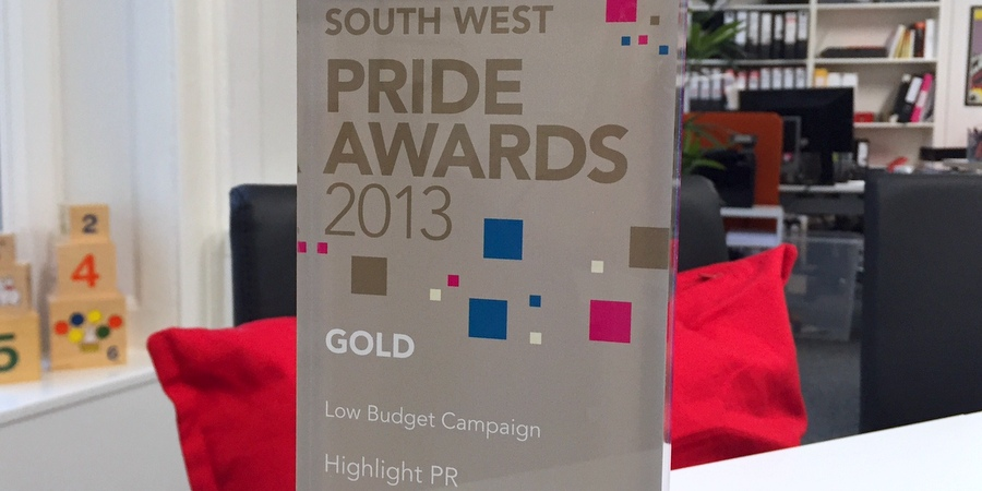 Highlight wins gold at CIPR PRide Awards