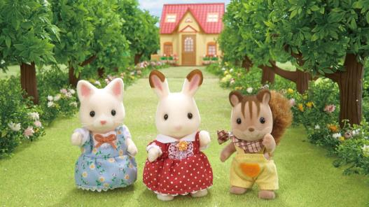 Highlight to promote Sylvanian Families