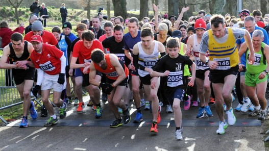 Over 2000 take part in St David's Day Run 2015