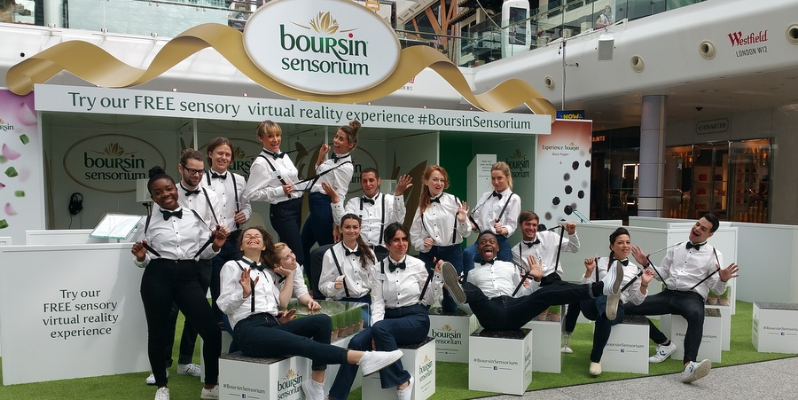 Boursin indulges in virtual reality experience