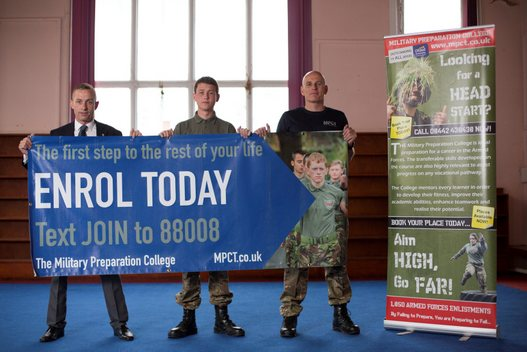 Military Preparation College opens in Wolverhampton