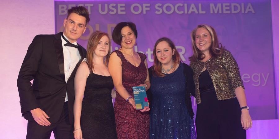 Social success for Highlight at PRide awards