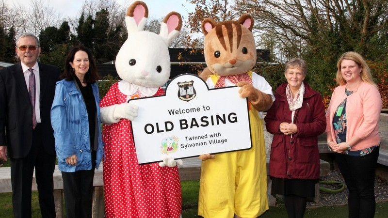 Village 'twinned' with Sylvanian Families