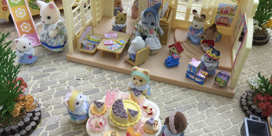 Sylvanian Families at Toy Fair