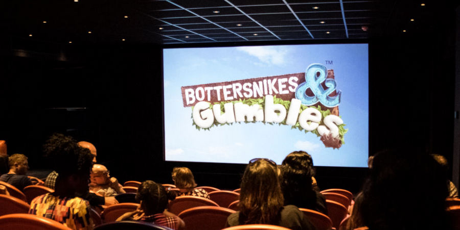 London press launch for Bottersnikes & Gumbles