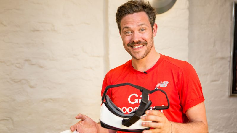 Will Young tests WWF-UK's VR Tiger Experience