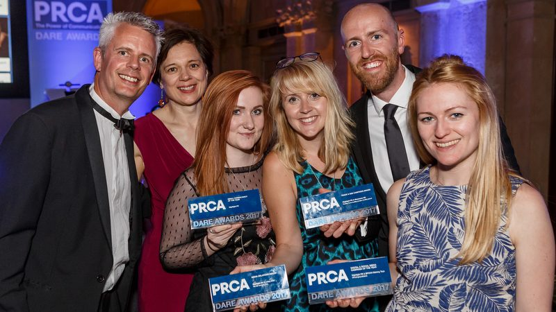 Highlight scoops four PRCA DARE awards