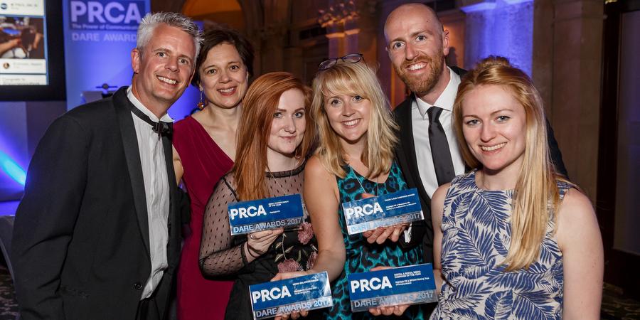 Highlight scoops four PRCA DARE awards