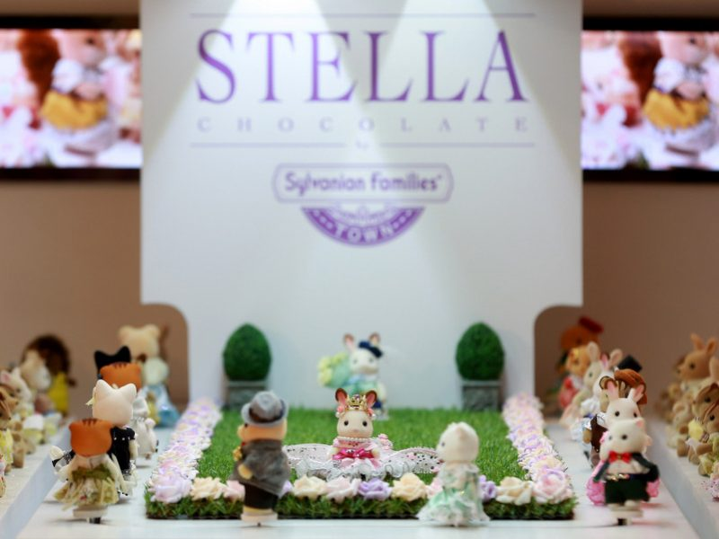 Sylvanian Families unveils world's smallest fashion show