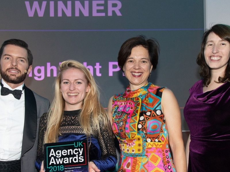 Highlight wins UK Agency Award for #SylvanianFROW