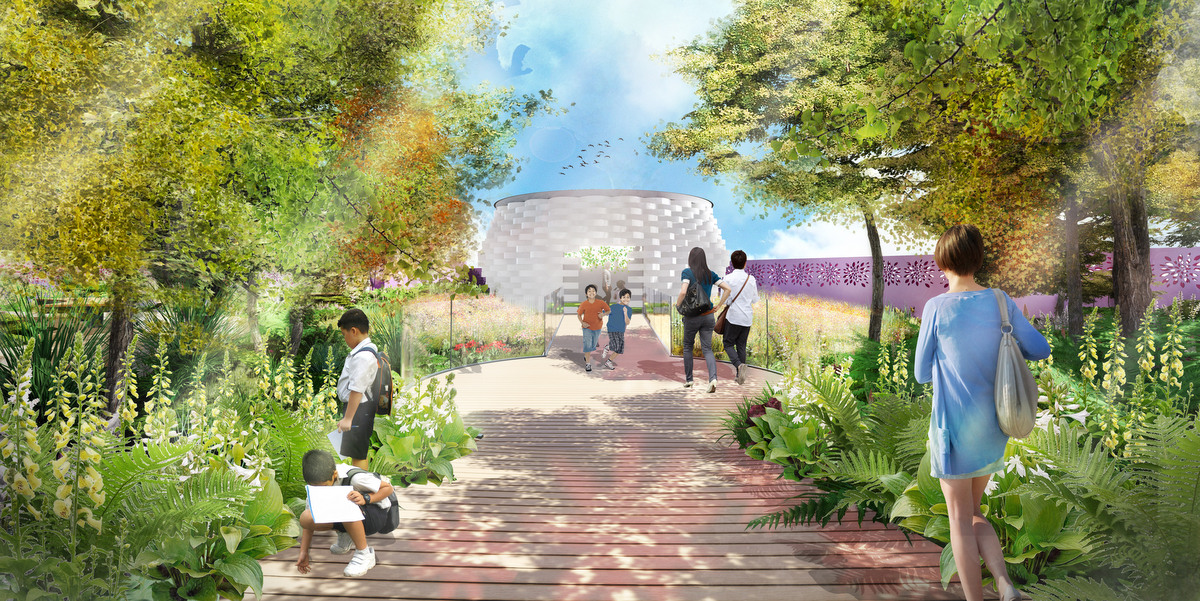 Grant Associates designs garden for 2019 Beijing International Horticultural Expo