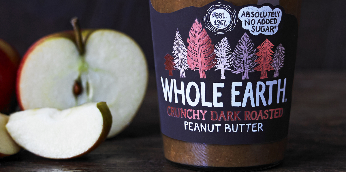 Whole Earth goes Dark Roasted with new spread