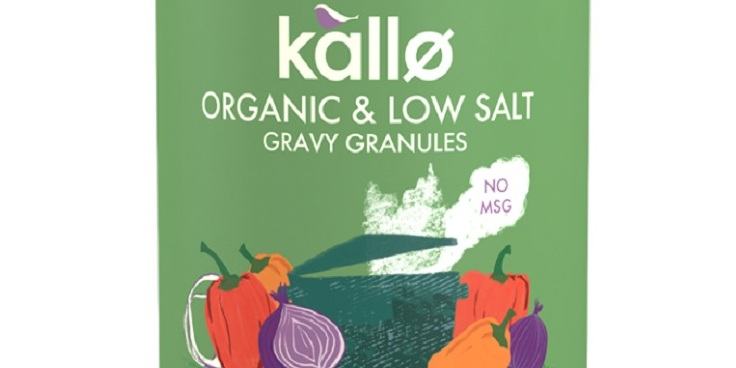 UK's first organic low-salt gravy granules hits supermarket shelves
