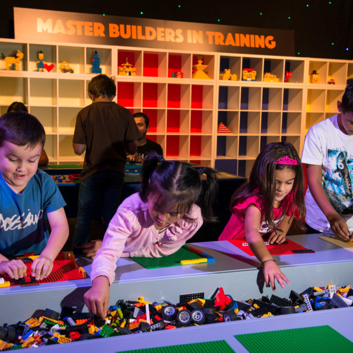 Press Launch for LEGO exhibition