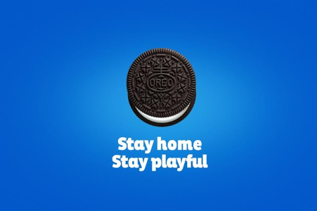 Oreo #StayHome campaign