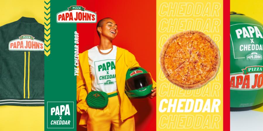 Highlight helps launch Papa John's first ever fashion drop